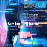 Sales Force CPQ Online Training ONLINE IT GURU
